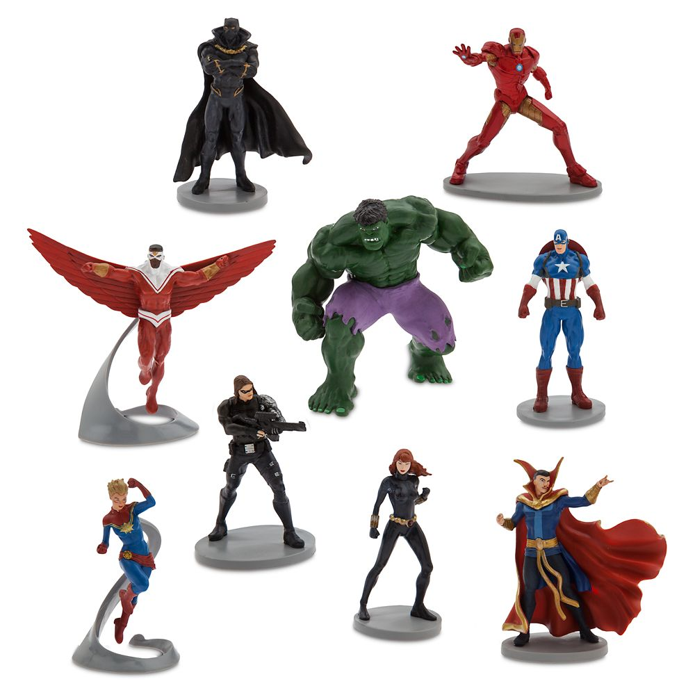 Avengers Deluxe Figure Play Set