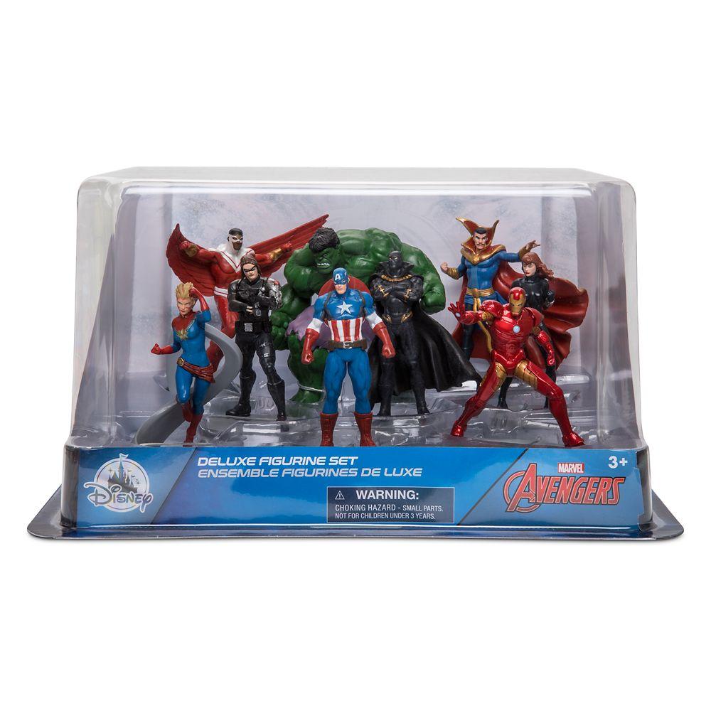 Avengers Deluxe Figurine Play Set