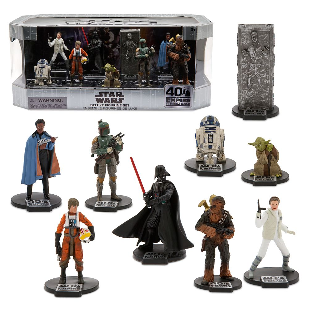 Star Wars: The Empire Strikes Back Deluxe Figure Play Set – 40th Anniversary