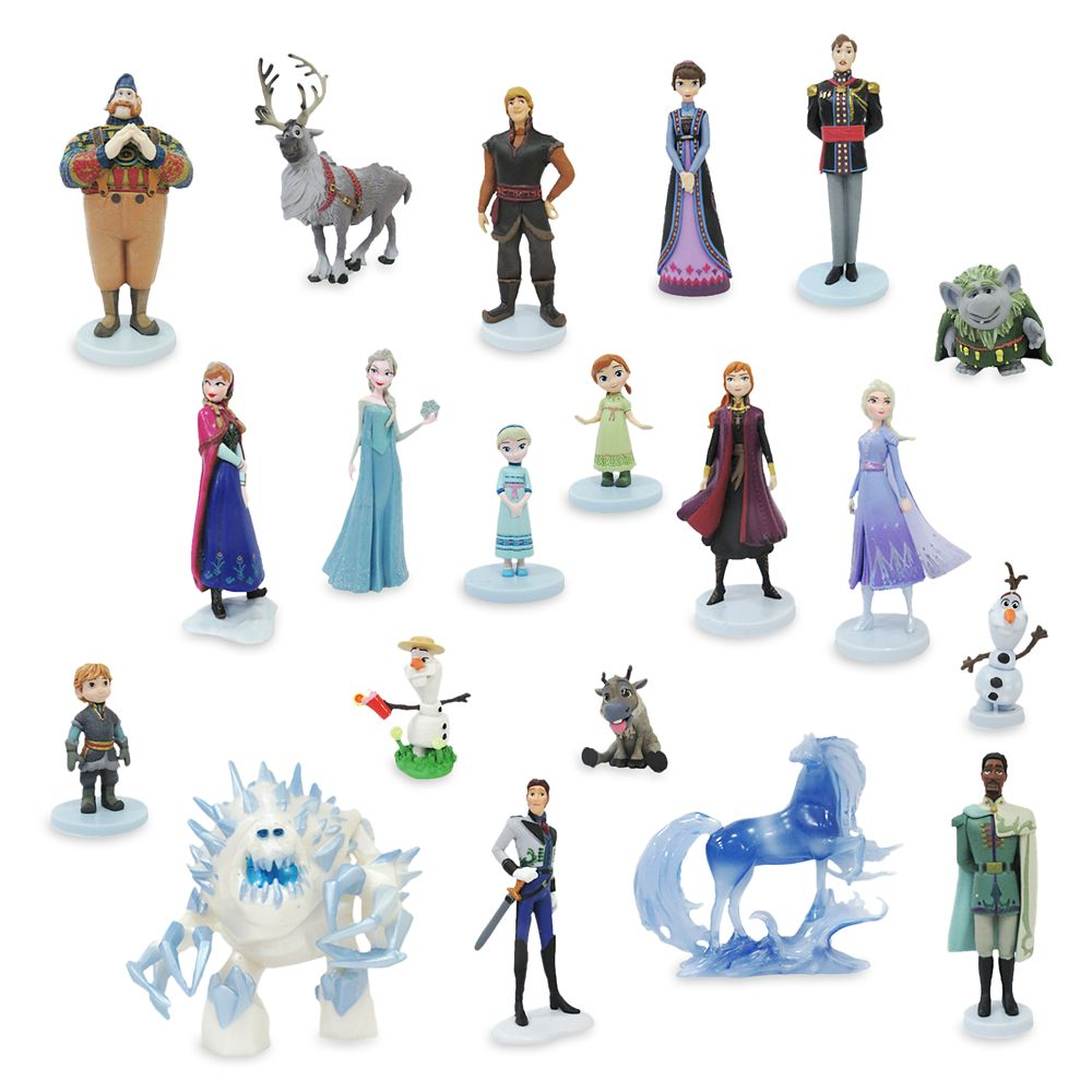 Frozen and Frozen 2 Mega Figure Set