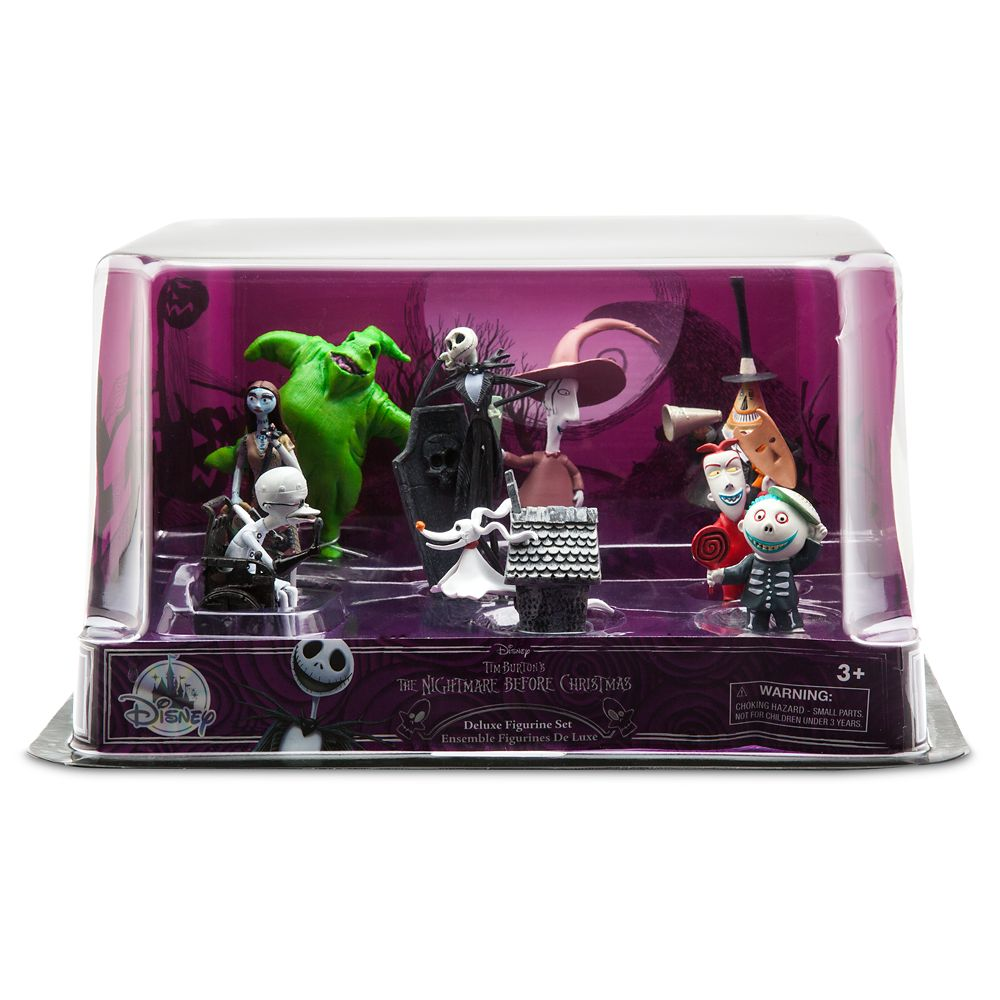 The Nightmare Before Christmas Deluxe Figurine Play Set