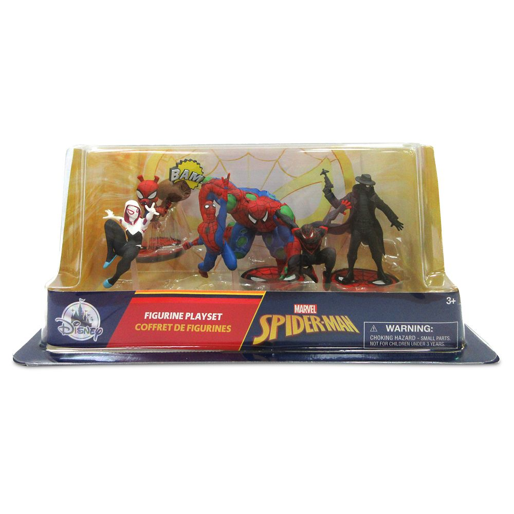 Spider-Man Figure Play Set