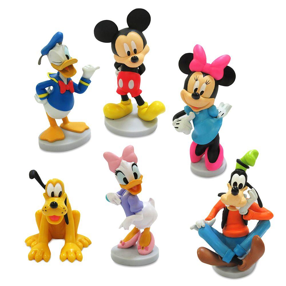 shopdisney.com - Mickey Mouse Figure Play Set Official shopDisney 14.99 USD