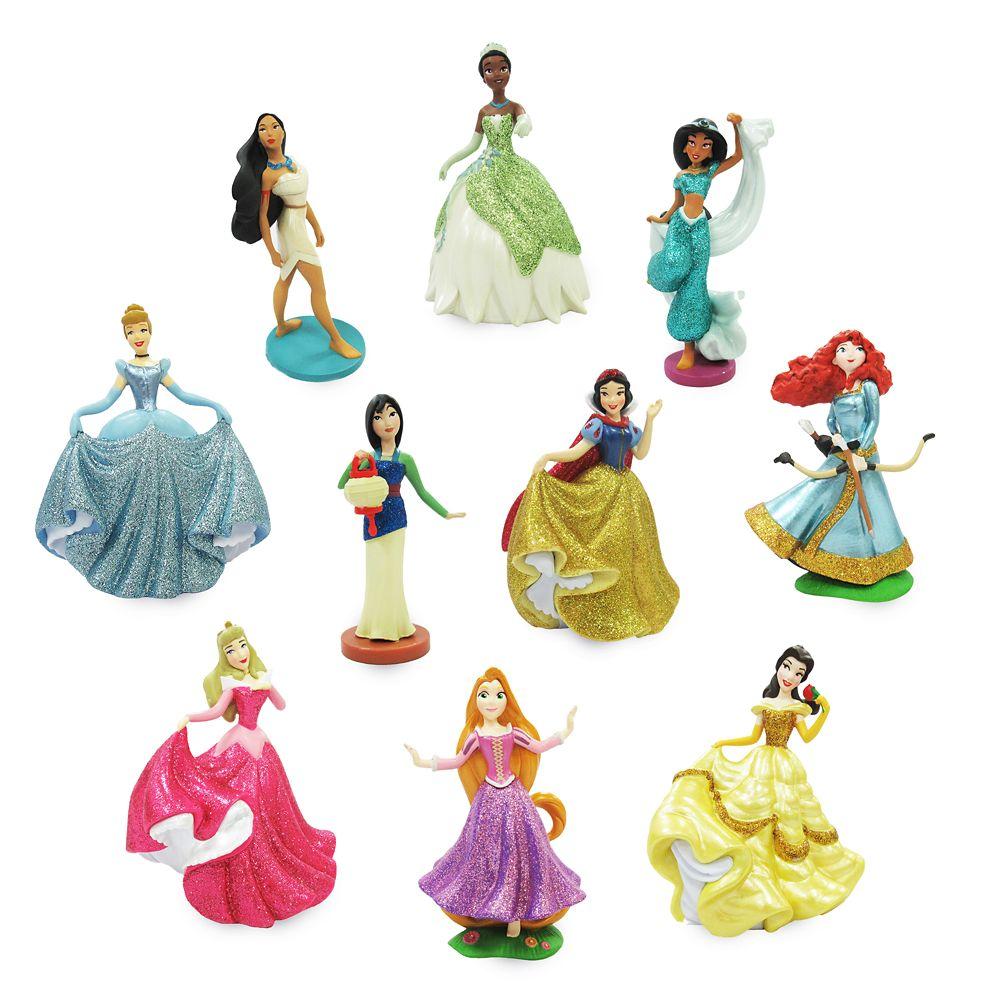 shopdisney.com - Disney Princess Deluxe Figure Play Set 26.99 USD