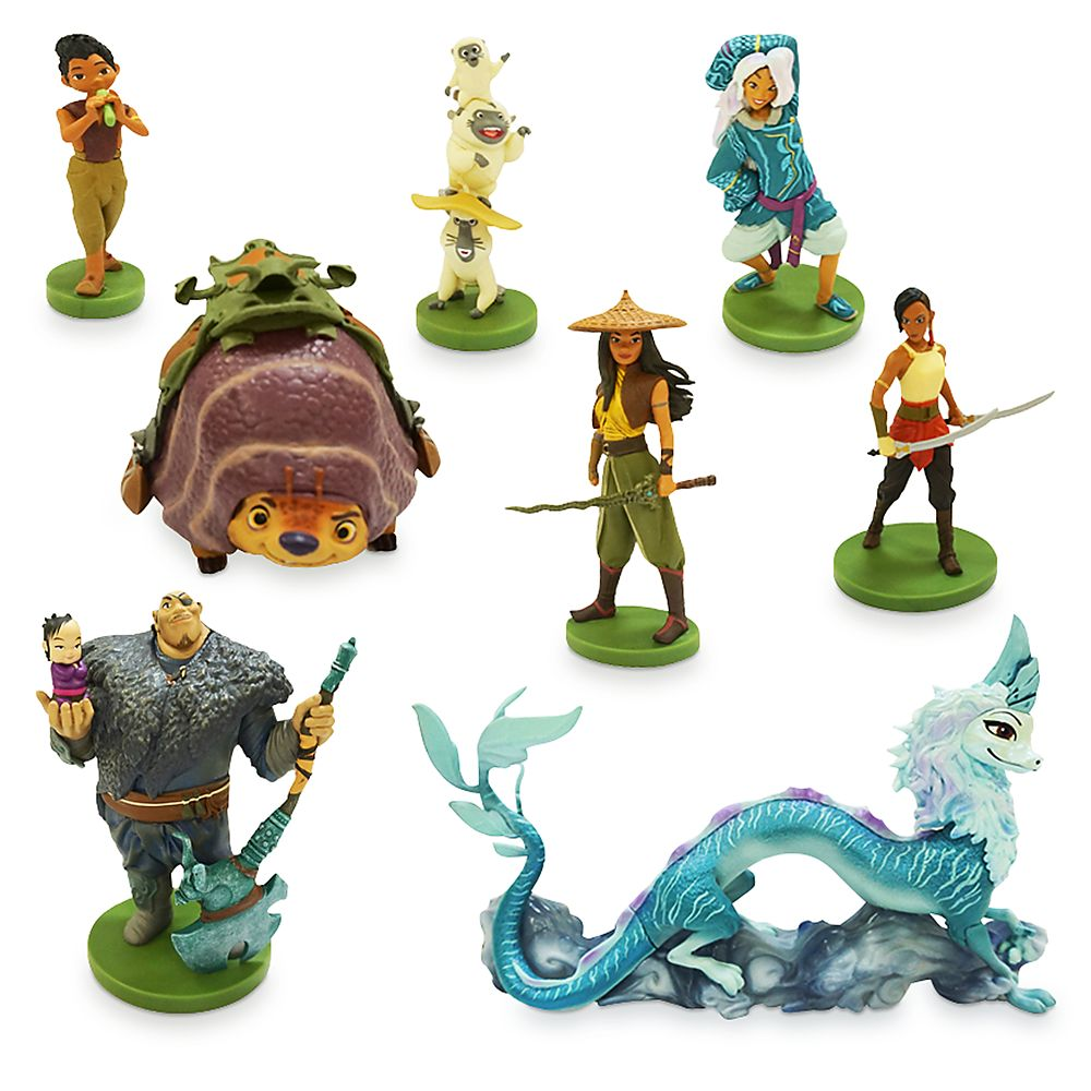 shopdisney.com - Raya and the Last Dragon Deluxe Figure Play Set Official shopDisney 26.99 USD