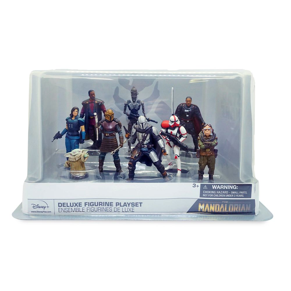 Star Wars The Mandalorian Deluxe Figure Play Set Shopdisney