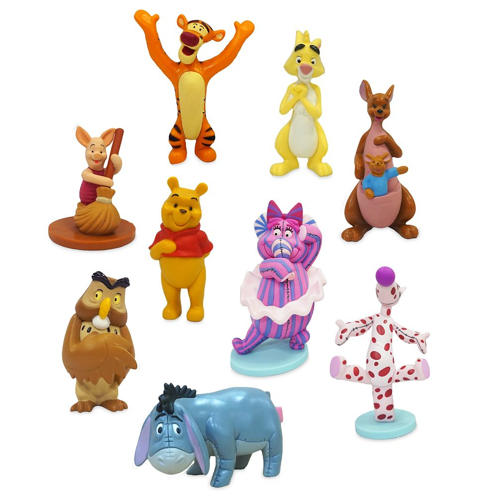 Winnie the Pooh and Pals Deluxe Figure Set