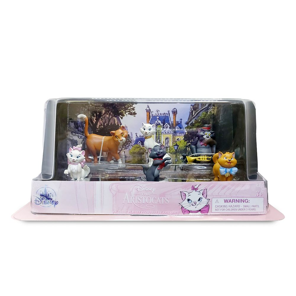 The Aristocats Figure Play Set – 50th Anniversary