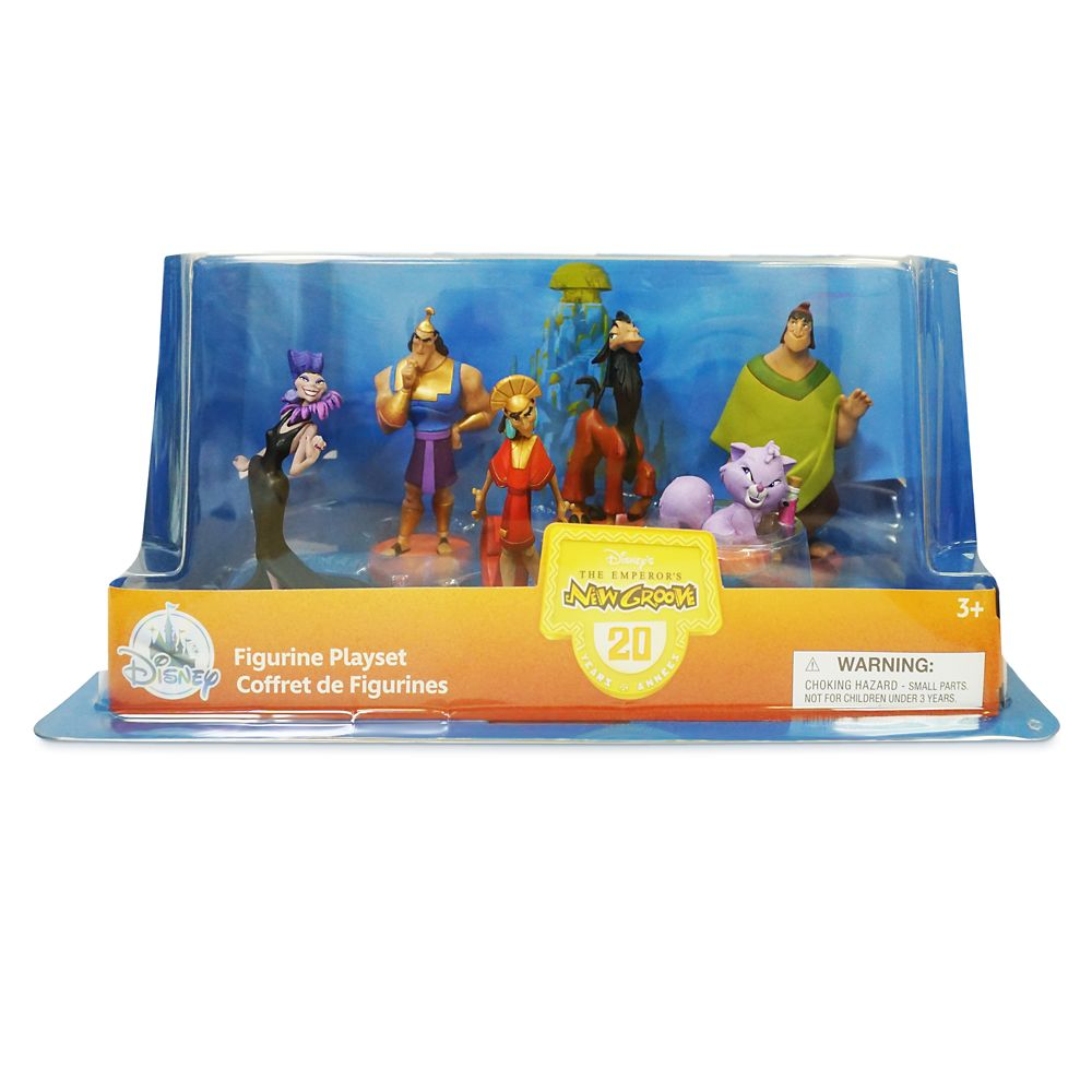 The Emperor's New Groove Figure Play Set – 20th Anniversary