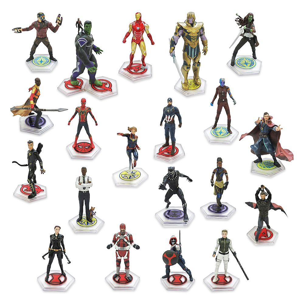 Marvel The Infinity Saga Mega Figure Set
