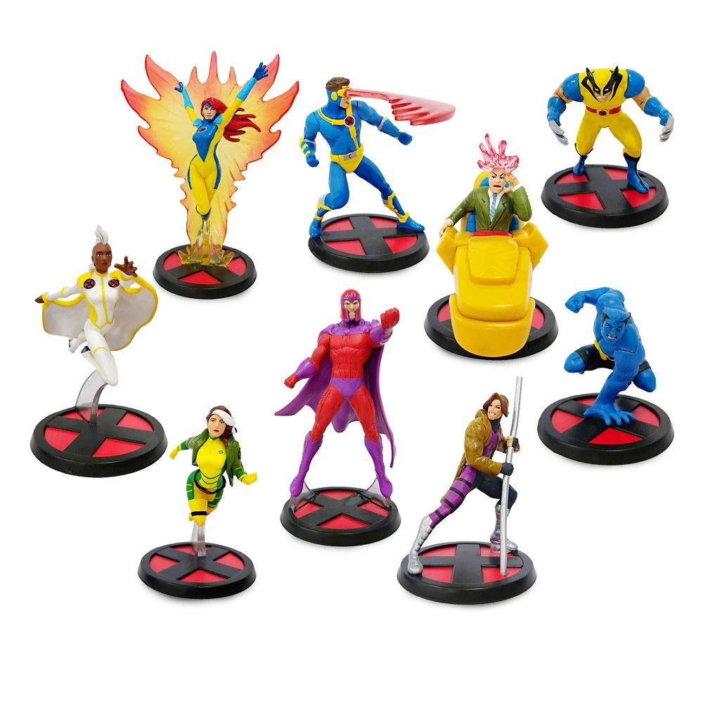 X-Men Deluxe Figure Play Set