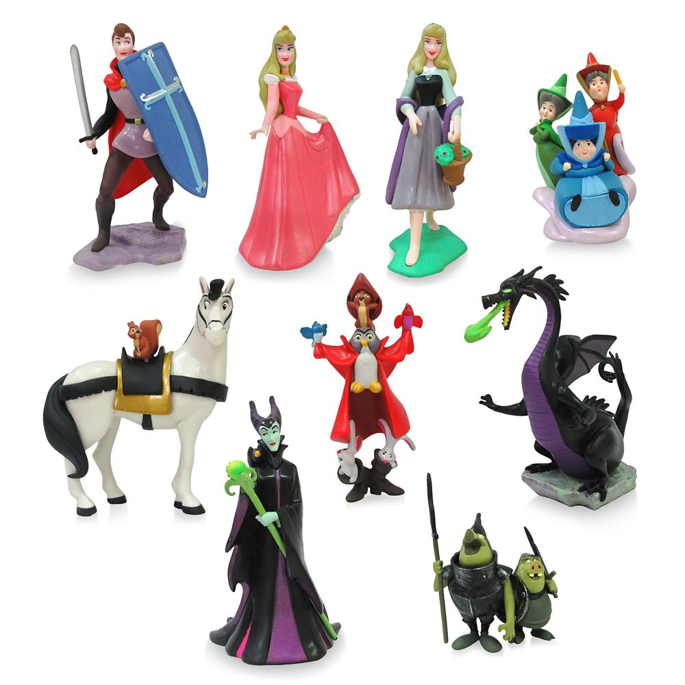 Sleeping Beauty Deluxe Figure Play Set