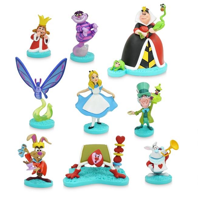 Alice In Wonderland Deluxe Figurine Play Set