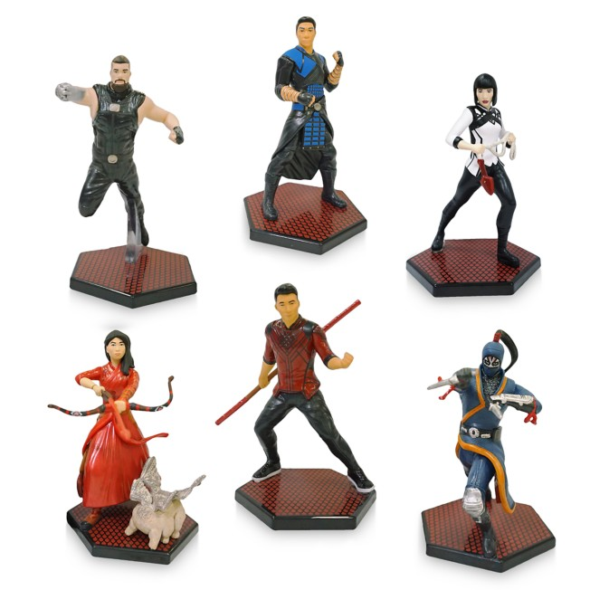 Shang-Chi and the Legend of the Ten Rings Figure Play Set