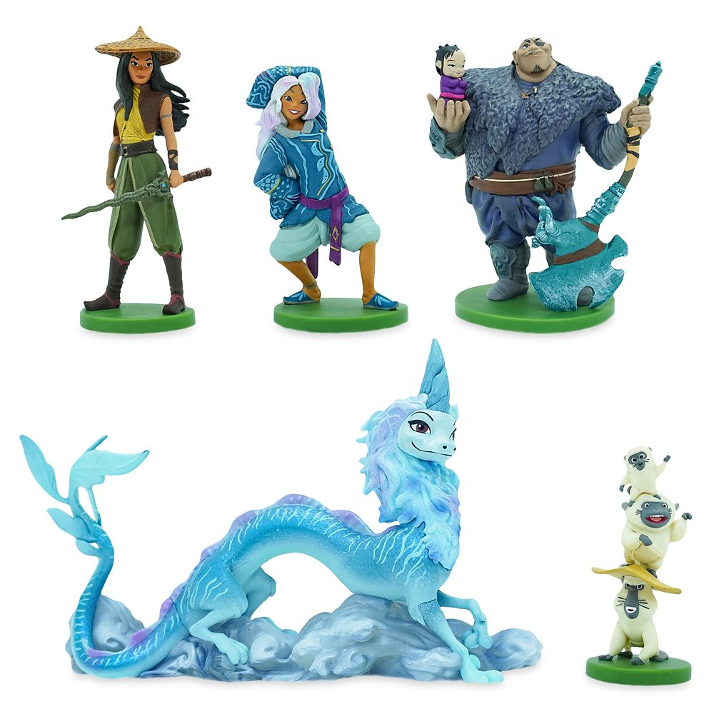 Raya and the Last Dragon Figure Play Set