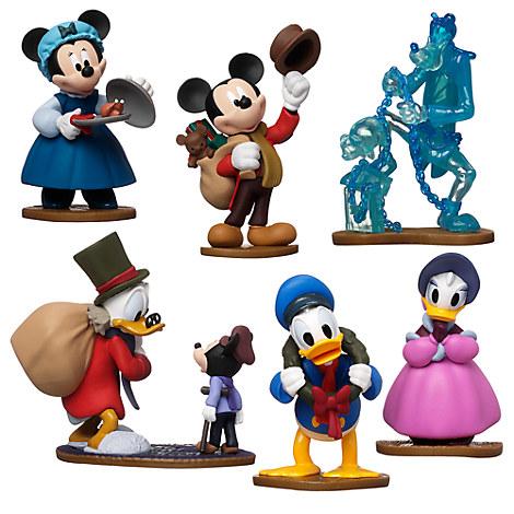 Mickey's Christmas Carol Figure Play Set