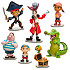 Captain Jake and the Never Land Pirates Figure Play Set