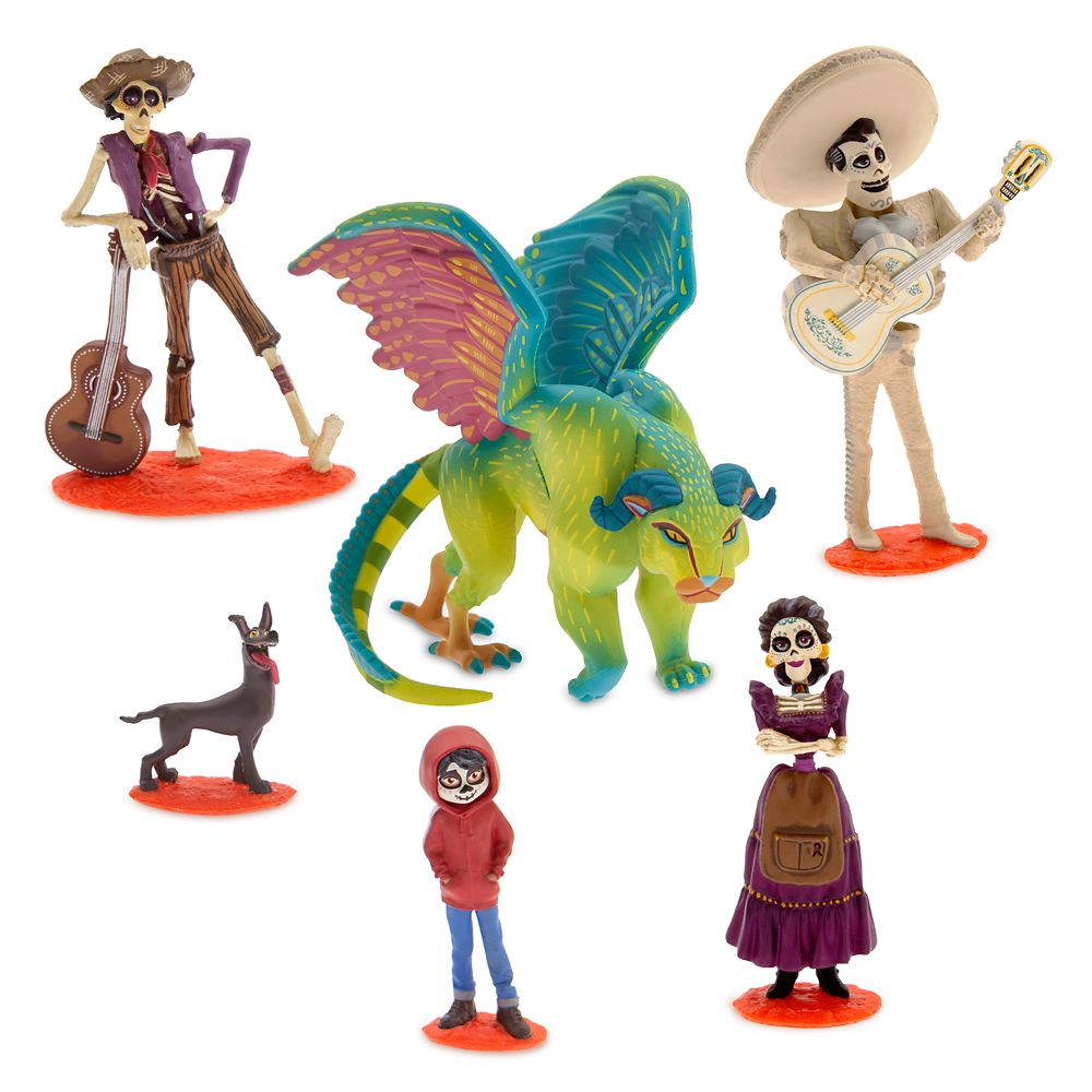 Coco Figure Play Set