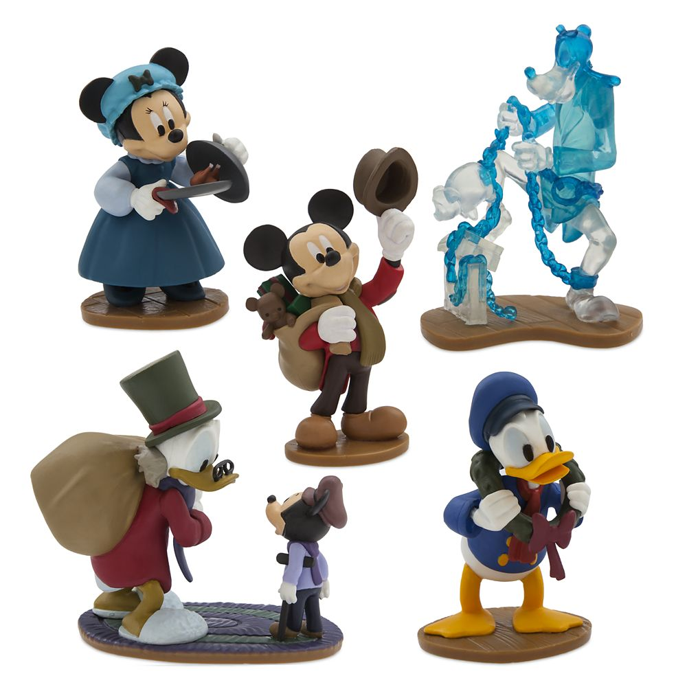 Mickey's Christmas Carol Figure Play Set