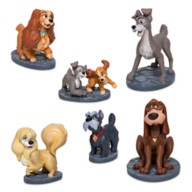 Lady and the Tramp Figure Play Set