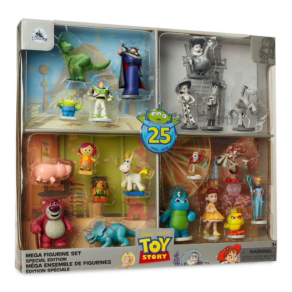 Toy Story 25th Anniversary Mega Figure Play Set – Special Edition