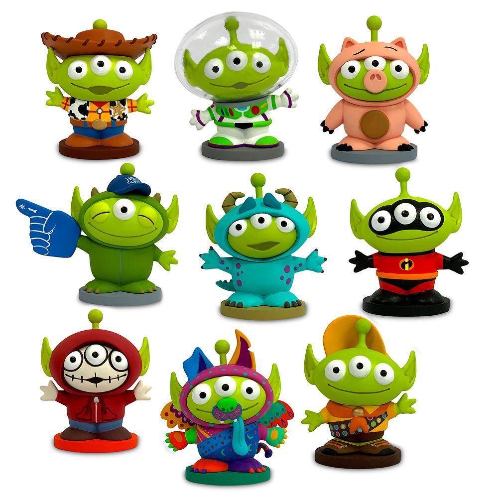 디즈니 알린 피규어 세트 Disney Toy Story Alien Pixar Remix Deluxe Figure Play Set