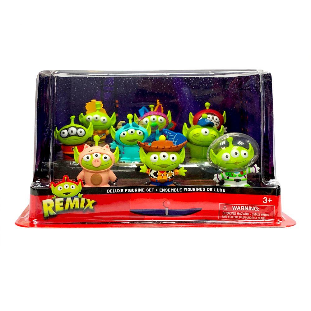 Toy Story Alien Pixar Remix Deluxe Figure Play Set