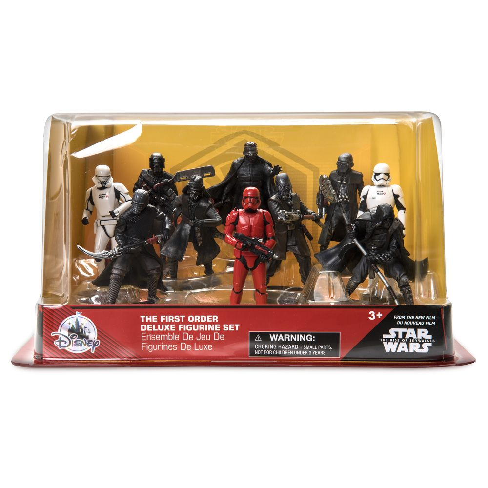 Star Wars: The Rise of Skywalker Deluxe Figure Play Set – The First Order – Toys for Tots Donation Item