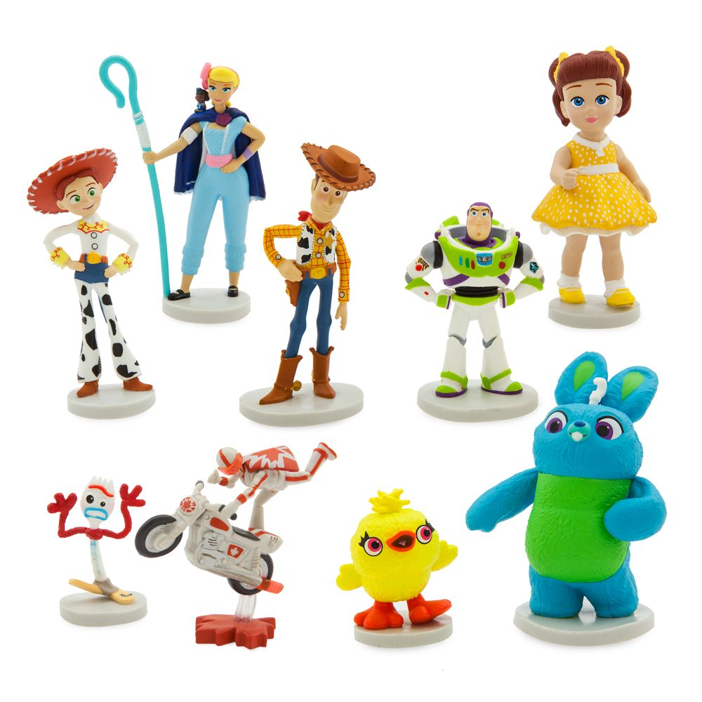 Toy Story 4 Deluxe Figure Set – Toys for Tots Donation Item