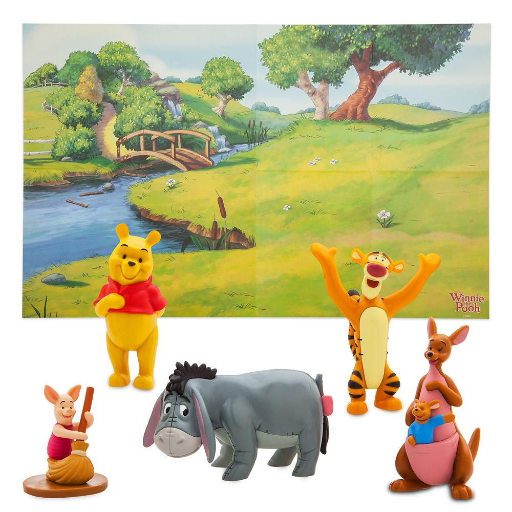 Winnie the Pooh Figure Play Set – Toys for Tots Donation Item