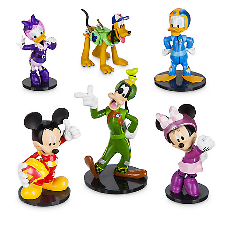 Mickey and the Roadster Racers Figure Play Set