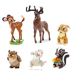 Bambi Figure Play Set
