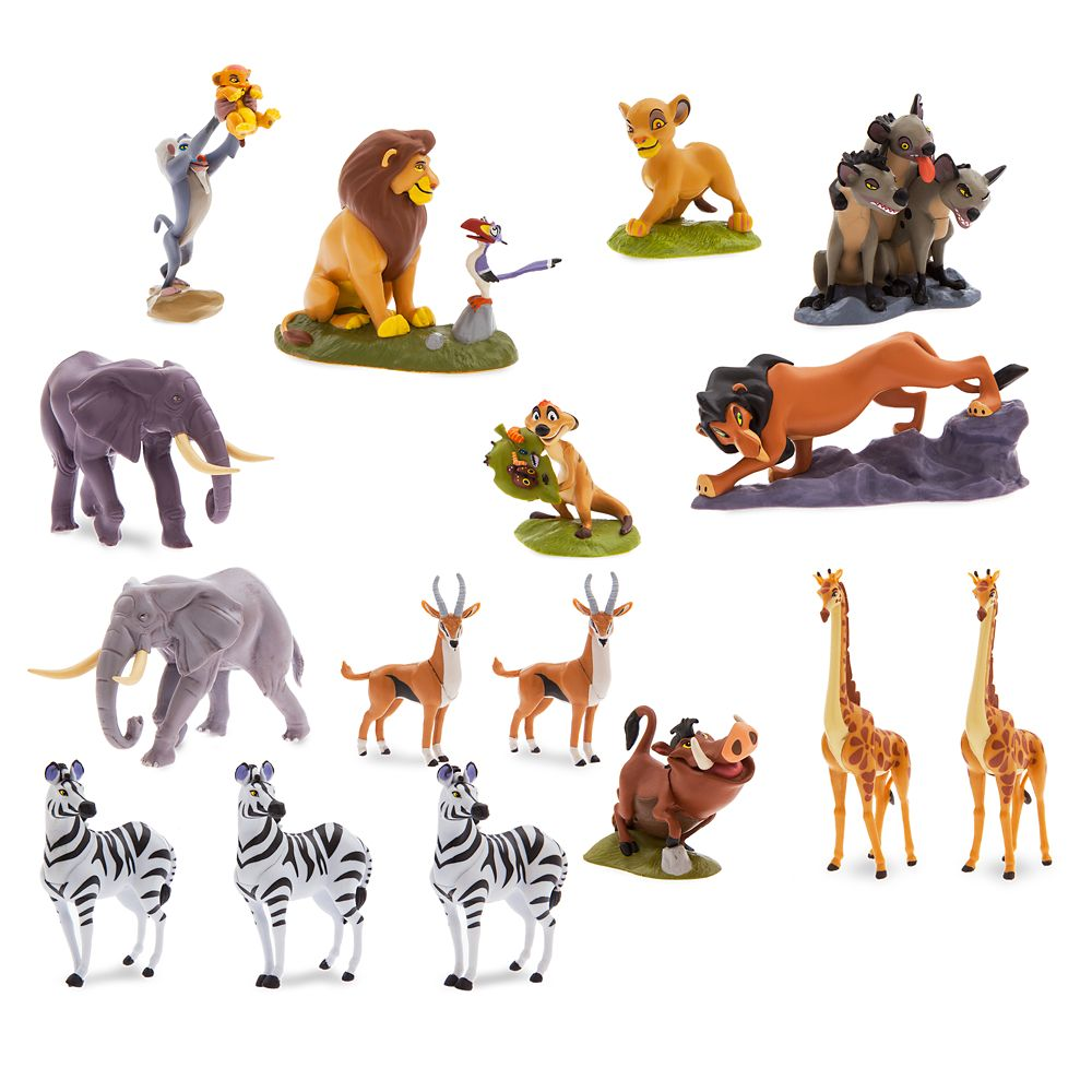 The Lion King Mega Figurine Set