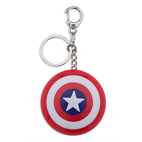 Captain America Light-Up Shield Keychain