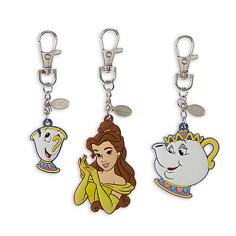 Beauty and the Beast Bag Charms