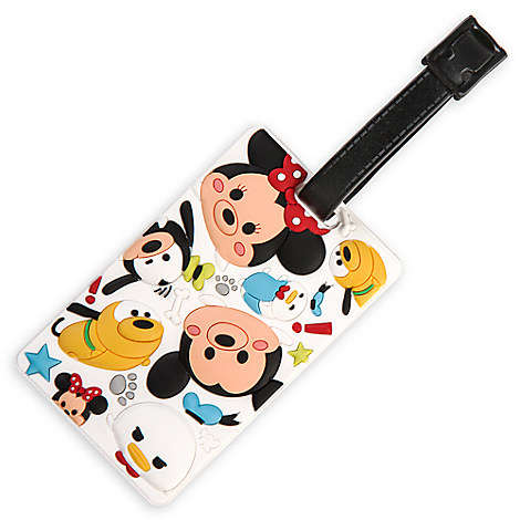 Mickey Mouse and Friends ''Tsum Tsum'' Luggage Tag