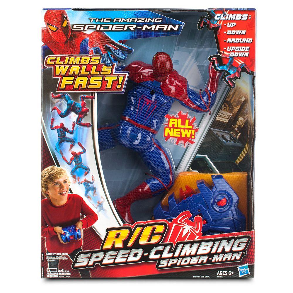 RC Speed-Climbing Spider-Man Toy Figure