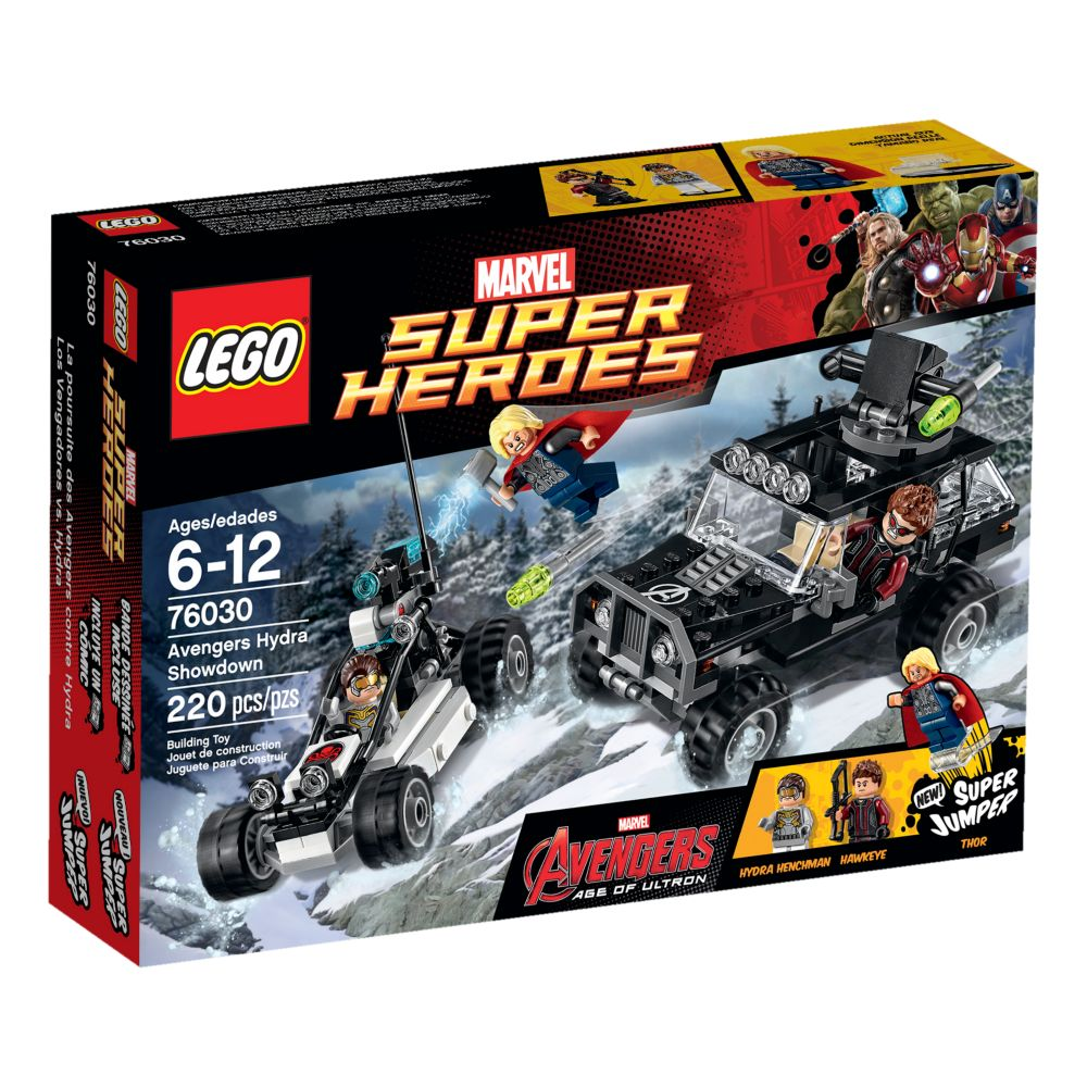 Avengers Hydra Showdown Playset by LEGO – Marvel's Avengers: Age of Ultron