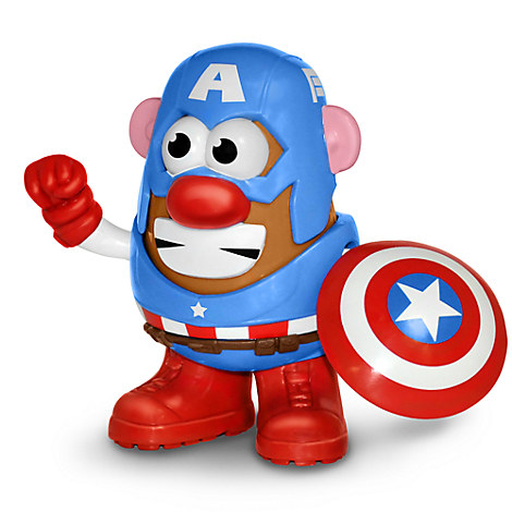 Captain America Mr Potato Head