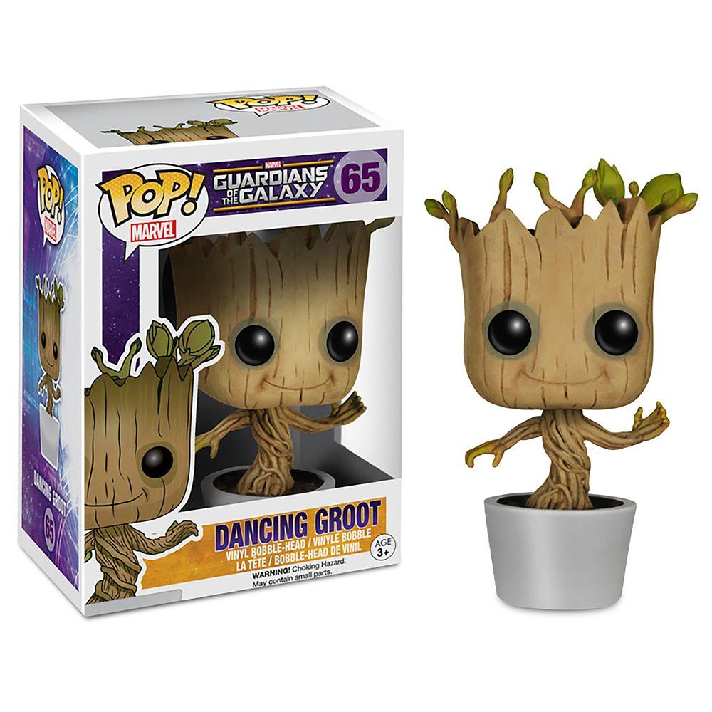 Dancing Groot Pop! Bobble-Head Figure by Funko