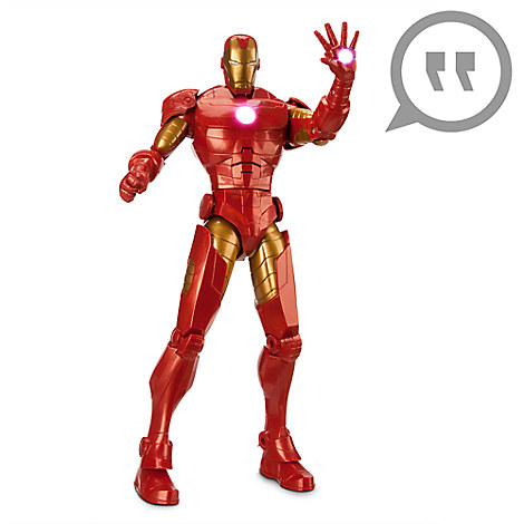 Iron-Man Talking Action Figure - 14'' H