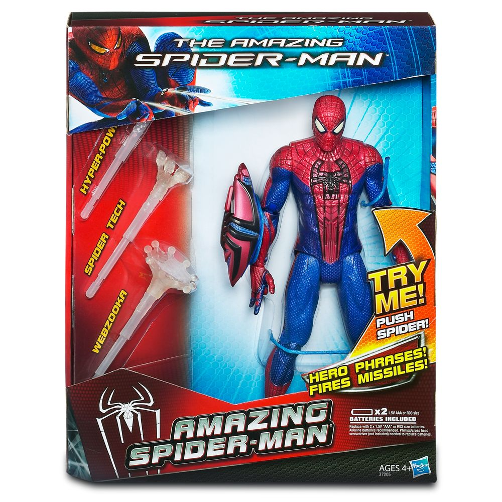 The Amazing Spider-Man Electronic Action Figure – 10''