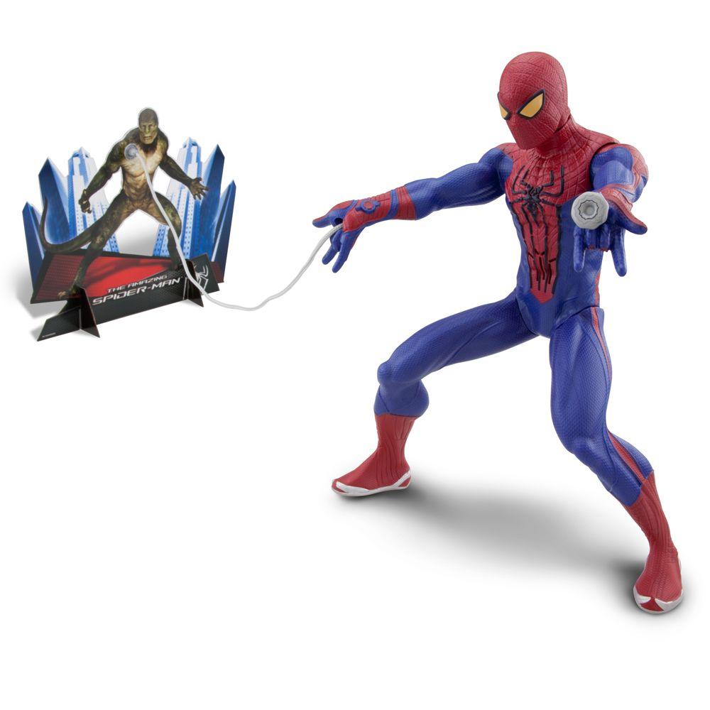 Motorized Web-Shooting Spider-Man Figure