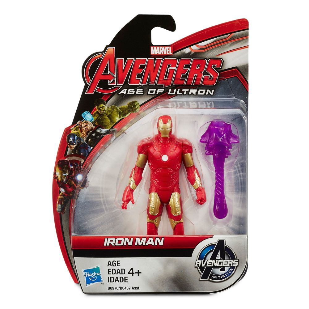 Marvel's Avengers: Age of Ultron All-Star Action Figure – Iron Man – 3 3/4''
