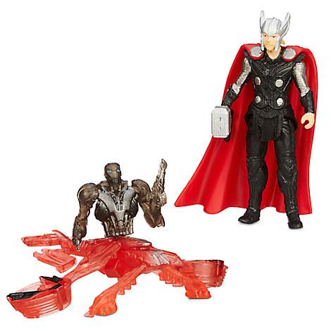 Marvel's Avengers: Age of Ultron Action Figure Set - Thor Vs. Sub Ultron 005 - 2 1/2''