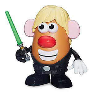 Luke Frywalker Mr. Potato Head by Hasbro - Star Wars 630509299300P