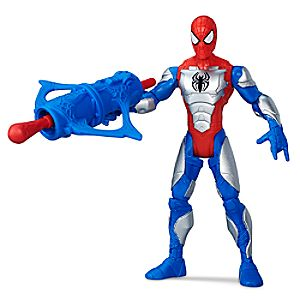 Armored Spider-Man Action Figure - Ultimate Spider-Man vs. The Sinister Six - 6'' 630509391219P