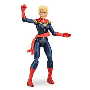 Captain Marvel - Marvel Legends Series Action Figure - 4'' 630509396382P