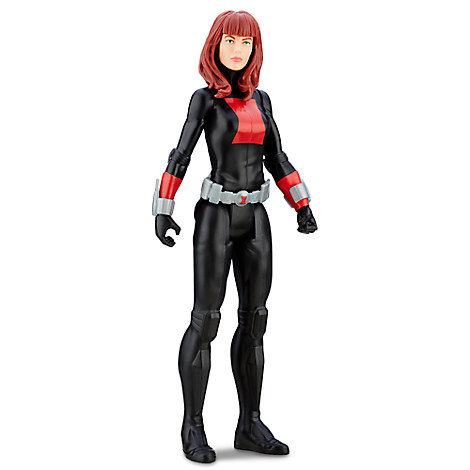 Black Widow Action Figure - Marvel Titan Hero Series - 12''