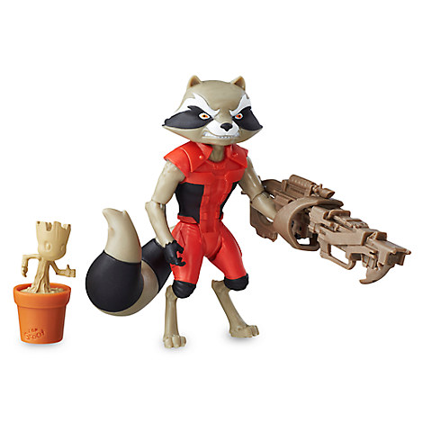 Rocket Raccoon Action Figure by Hasbro - Guardians of the Galaxy - 6''
